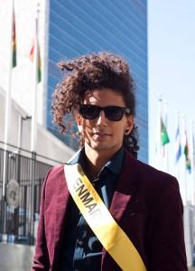 Lior Foighel ved FN hovedkvarteret i New York.