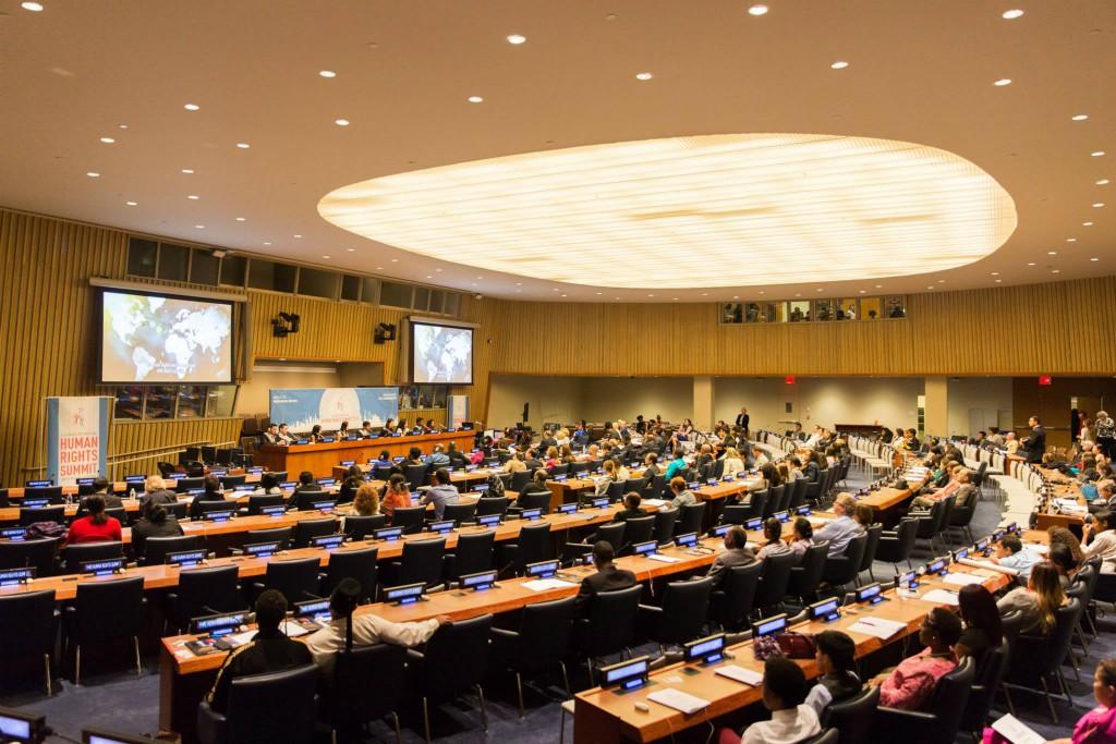Menneskerettigheder Konference ved De Forenede Nationers hovedkvarter i New York