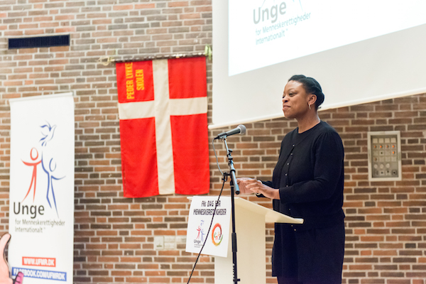 Taler fra European Network Against Racism