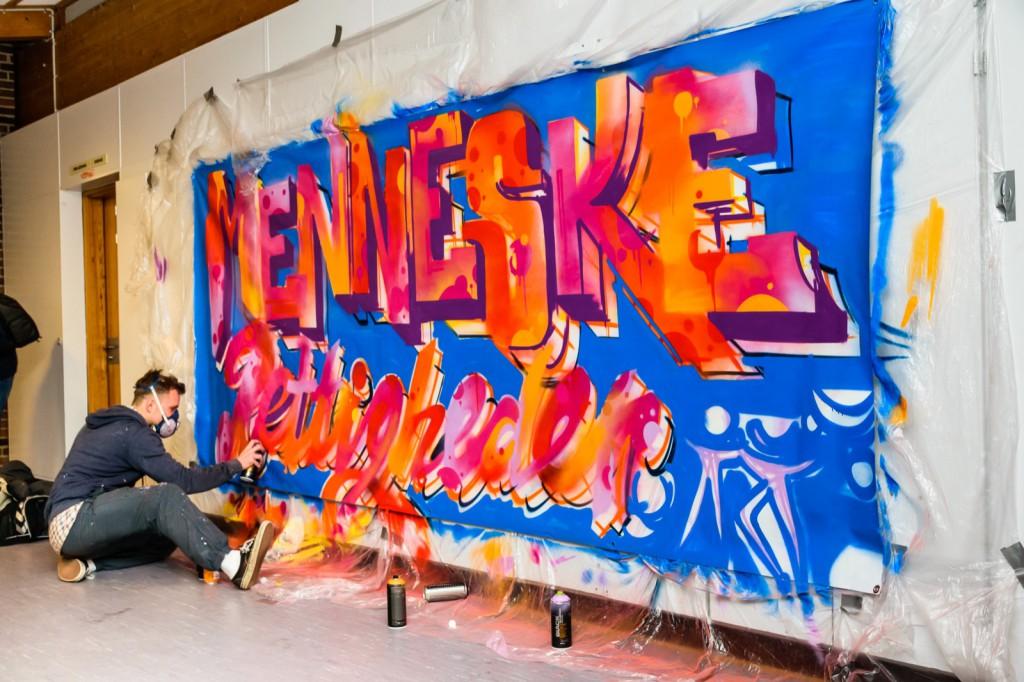 Menneskerettigheder i graffiti